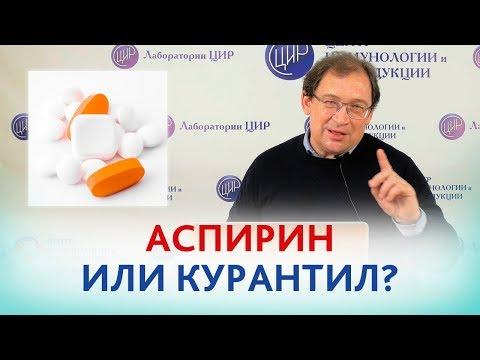 АСПИРИН или КУРАНТИЛ ? ЧТО лучше ПРИНИМАТЬ, если есть риск преэклампсии? Отвечает доктор Гузов.