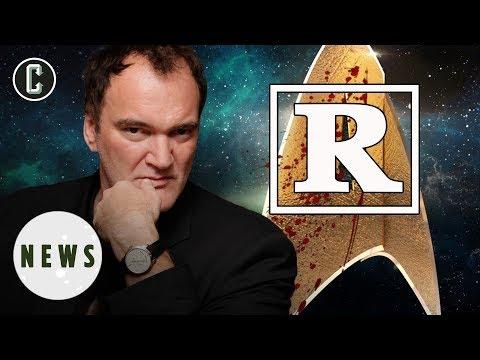 Quentin Tarantino's Star Trek Movie Will Be RRated  Movie