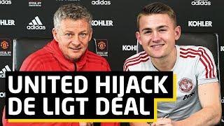 De Ligt: United Hijack Barcelona Transfer   Man Utd News