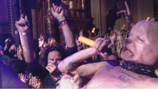 Die Antwoord Pitbull Terrier Oakland Fox Theater Ninja Crowd Surfing