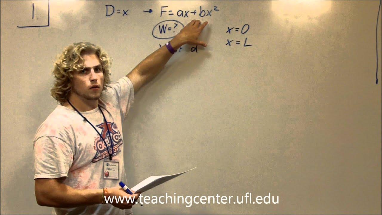 PHY 2048 » Teaching Center » University of Florida