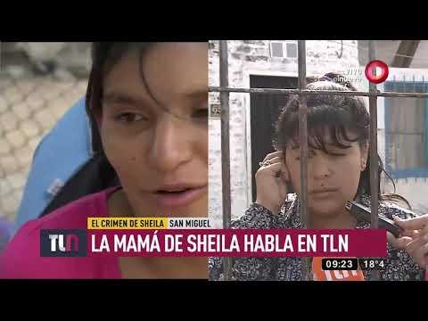 La mamá de Sheila rompe el silencio