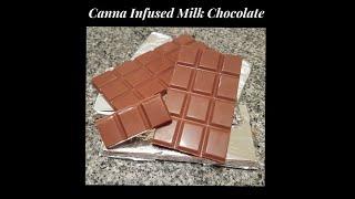 Canna Real Milk Chocolate -  Chocolate Tempering 3 Ways