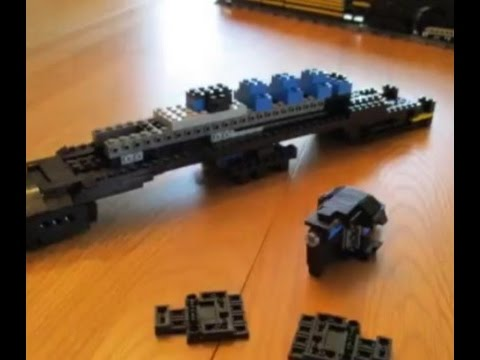 LEGO T1 5550 Construction Video by The T1 Trust