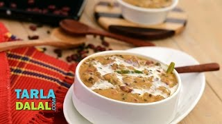 Dal Makhani / Easy Punjabi vegetarian recipe/ Restaurant style recipe by Tarla Dalal