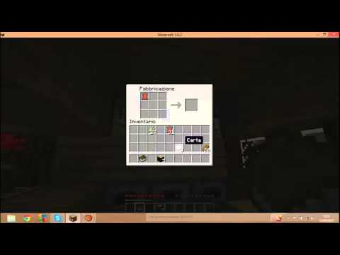Come Creare Un Libro E Una Libreria In Minecraft Youtube