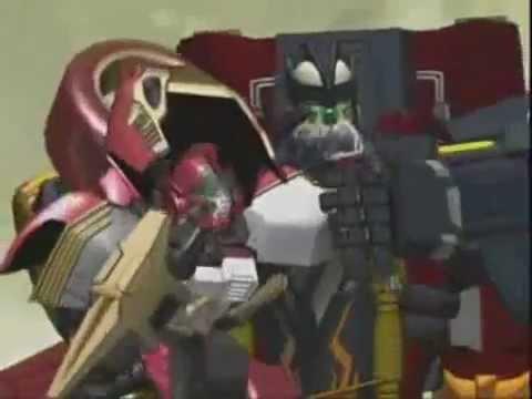 Transformers Cybertron: Ransack and Crumplezone kipnap Jolt