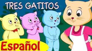 TRES GATITOS | Canciones infantiles en Español | ChuChu TV thumbnail