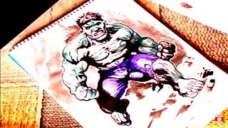 #КАК НАРИСОВАТЬ ЧЕЛОВЕКА ПОЭТАПНО. #Рисуем Халка/How To Draw Hulk(Как нарисовать человека поэтапно. Рисуем Халка/How To Draw Hulk В уроке будет рассказано, как нарисовать человека..., 2016-12-09T19:20:51.000Z)