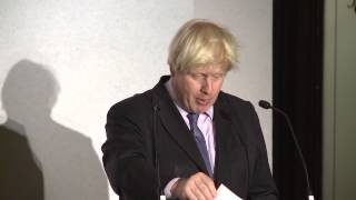Boris Johnson: 3rd Margaret Thatcher Lecture (FULL)