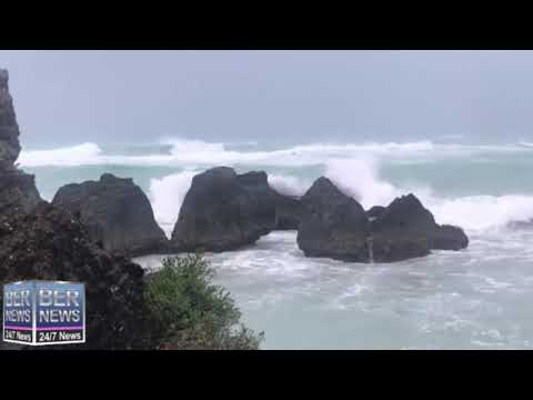 7.30am Weather As Hurricane Teddy Approaches Bermuda, Sept 21, 2020