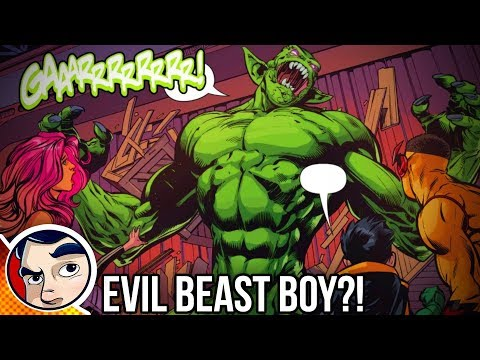 Teen Titans Beast Boy Goes Evil - Rebirth Complete Story