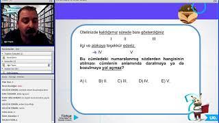 Öznur Saat Yıldırım 2018 KPSS Türkçe Konu Anlatım Videoları
