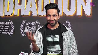 Ayushmann Khurrana & Tabu Celebrate The National Award Win For Andhadhun | Uncut 02