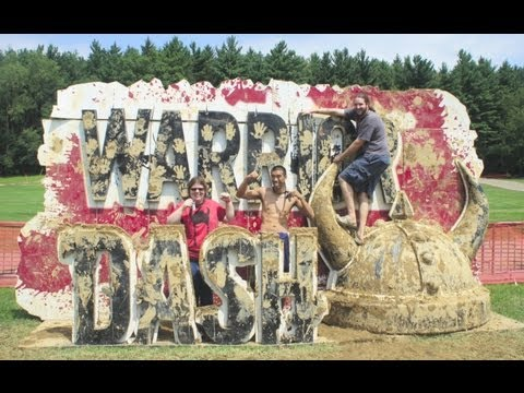 [HD 1080p] Warrior Dash 2013: Ohio II Speed Run + Obstacles (2013-08-10 N. Lawrence, Ohio)