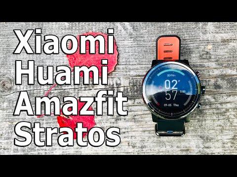 Xiaomi Amazfit Stratos полная настройка и обзор II Они огонь