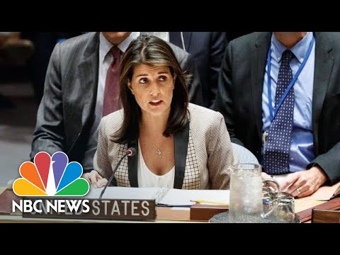 Ambassador Nikki Haley Calls On Russia To Release Seized Ukrainian Ships And Crew | NBC News