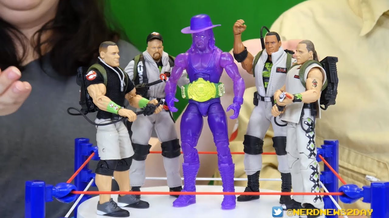 Mattel WWE Ghostbuster ELITE Shaun Michaels Slime Box Figure