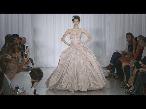 Coco Rocha Kicks Off Zac Posen's Spring 2014 Runway Show | Fashion Week Spring 2014