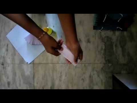 DIY paper purse || first video in youtube