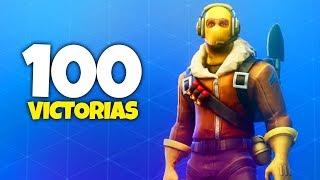 100 VICTORIAS EN SOLITARIO (Fortnite Battle Royale)