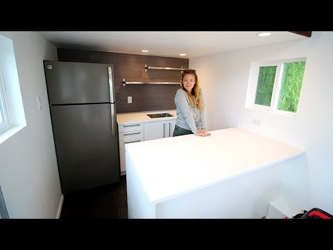 Tiny House Custom Ikea Countertops REAL NICE YouTube