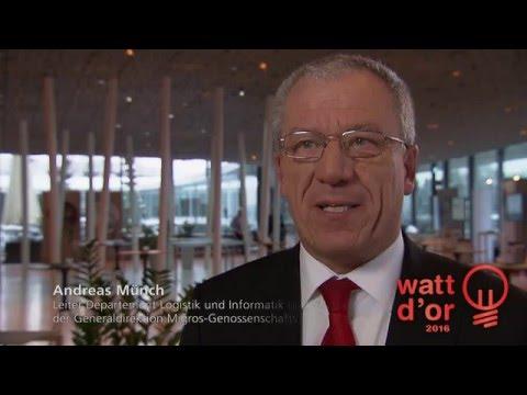 Watt d'Or 2016: Interview mit Andreas Münch, Generaldirektion Migros-Genossenschafts-Bund
