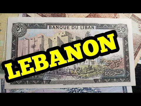 Lebanon's Preinflation Banknotes