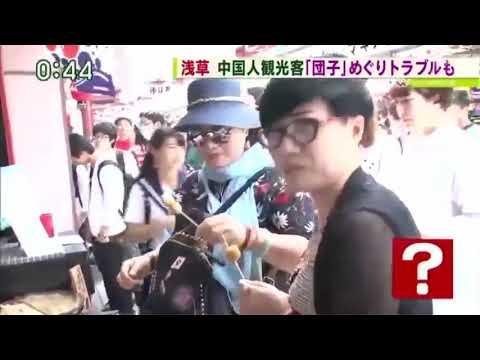 【資料】中国人観光客 異次元のマナー違反