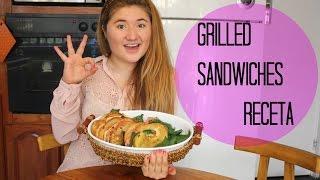 GRILLED SANDWICHES- RECETA (DELICIOSOS) Thumbnail