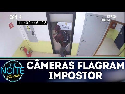 Monólogo: Câmera flagra impostor no camarim | The Noite (19/07/18)