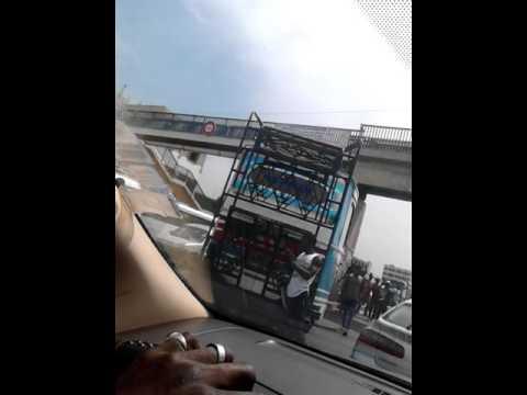 Un accident a poste thiaroye