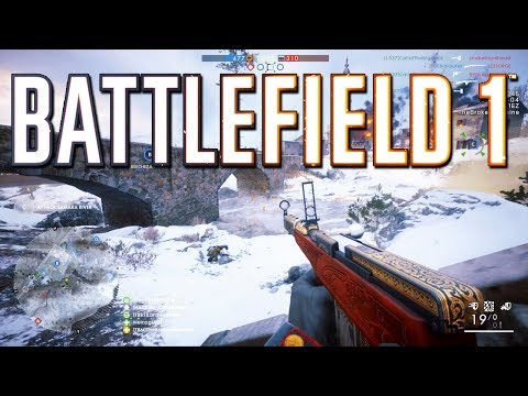 Battlefield 1 New Map and Guns - PS4 PRO 1080p 60 fps - TheBrokenMachine