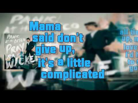 Panic! At the Disco - High Hopes (Lyrics)(Audio)