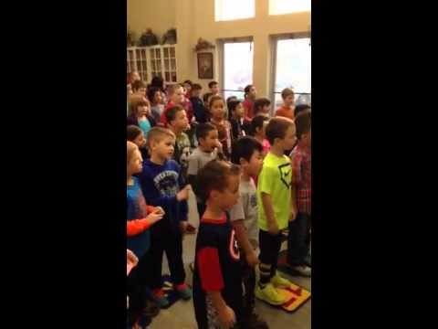 """Kingspoint Christian School sings from th """"heart""""."""