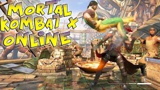 Mortal Kombat X Online - HEY ERMAC, HOW DEM BICYCLE KICKS TASTE LOL