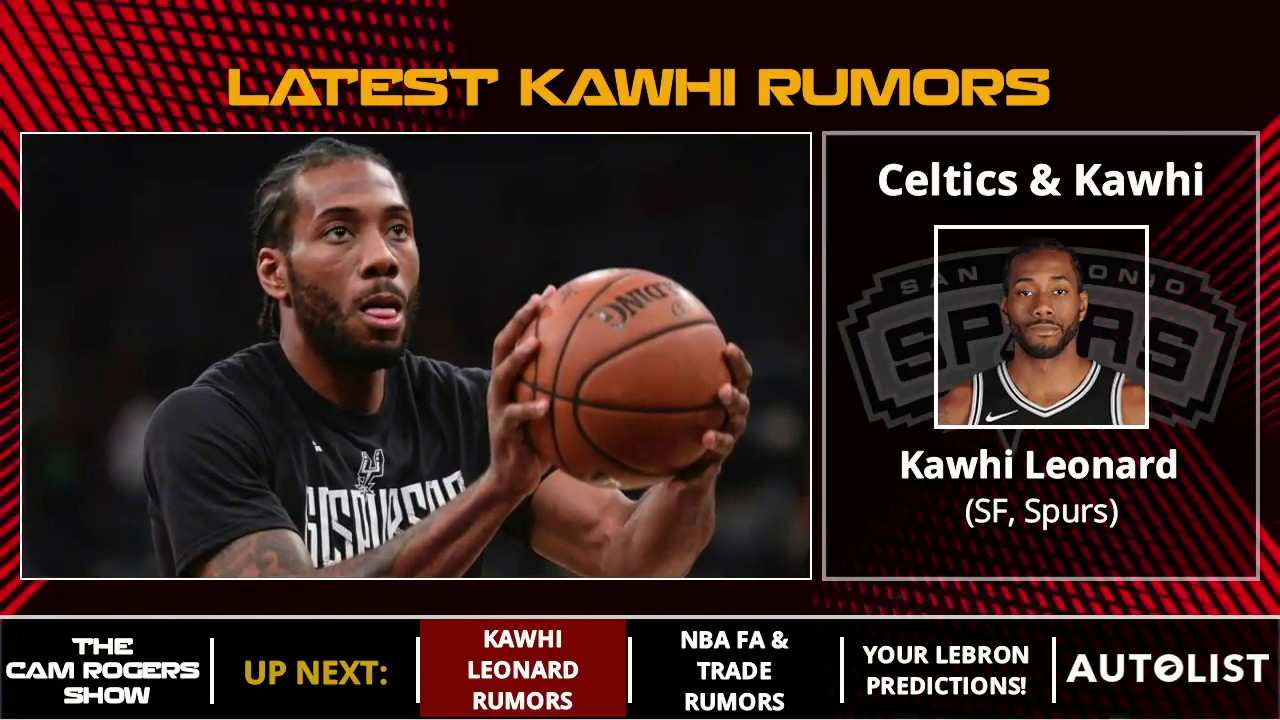 d62098846 Kawhi Leonard Trade Rumors  Spurs Ready To Trade