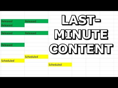 Last-minute Content