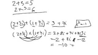 Introduction to Complex Numbers