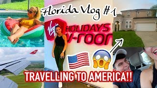 TRAVELLING TO FLORIDA WITH MY FAMILY & THE BIGGEST VILLA TOUR! 😱🇺🇸