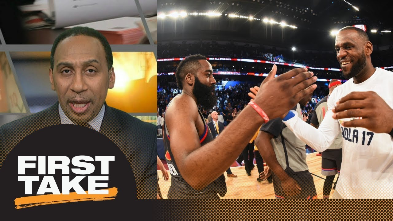 Stephen A. Smith on LeBron James' best move next season: Join Houston Rockets | First Take | ESPN