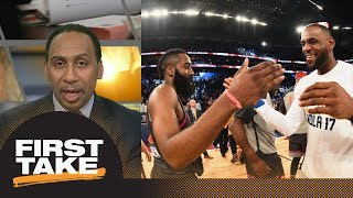 Stephen A. Smith on LeBron James' best move next season: Join Houston Rockets | First Take | ESPN