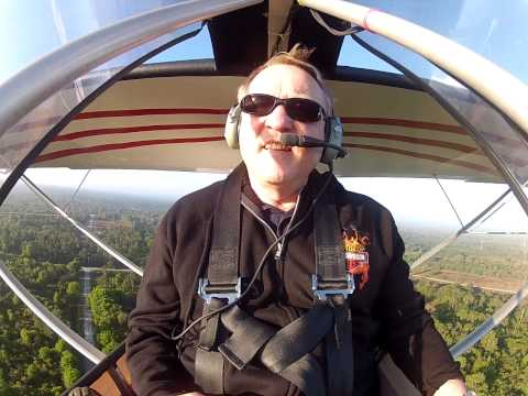 Excalibur Aircraft John Barry demo flight