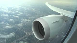 American 787-8 - Stunning Rainy Landing into Chicago O'hare International Airport (60fps)
