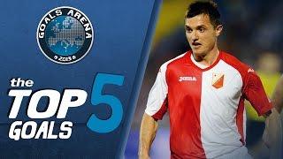 TOP 5 GOALS 6 kolo JSL 2014 15