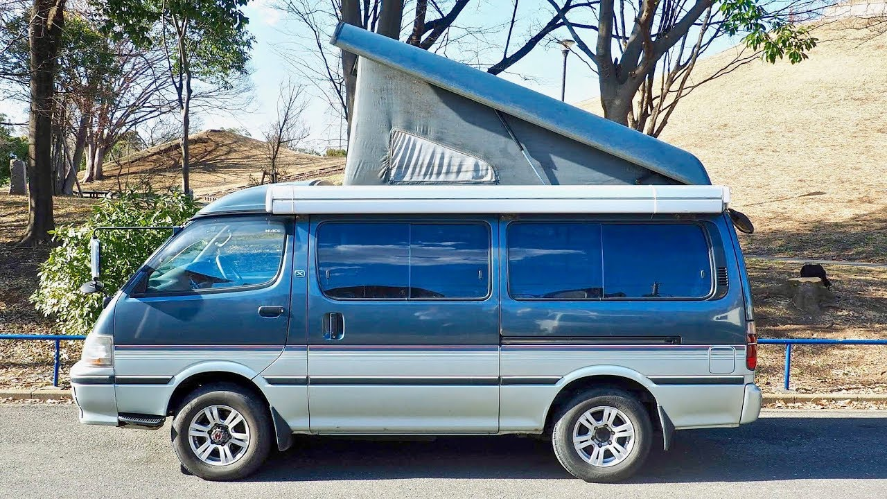 1994 Toyota Hiace Camper Pop-top Diesel 4WD (USA Import) Japan Auction  Purchase Review