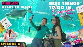 MISS PINKLADY TRAVEL IN ASIA EPS 4 - BEST THINGS TO DO IN SINGAPORE.