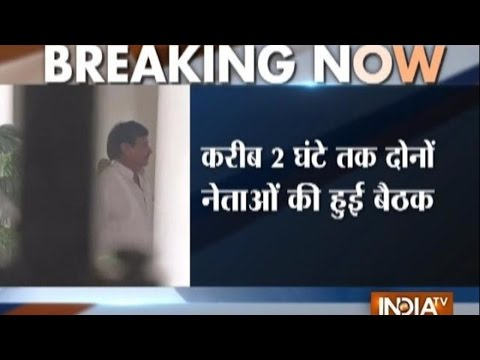 Mulayam Singh Yadav meets Shivpal Singh for over 2 hours in Delhi