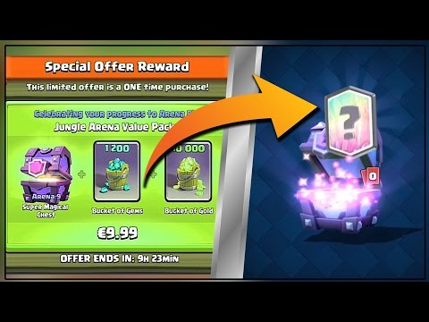 CLASH ROYALE ACTUALLY GAVE ME ONE!! - Clash Royale Super Magical Chest Opening