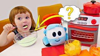 Привет, Бьянка - новая серия! Разноцветная каша для детей